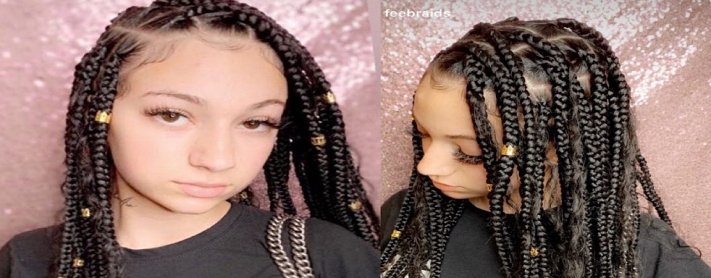 White Rapper, Bhad Bhabie, Cash Me Outside Girl, Goes In On Insecure Black Weave Wearing Hoes Calling Cultural Appropriation Because She Wore Braids! (Live Broadcast)