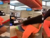 R&B Fattie Lizzo Takes It Up A Notch & Decides To Twerk At A Local Chick Fil A, Has She Gone Too Far? (Video)
