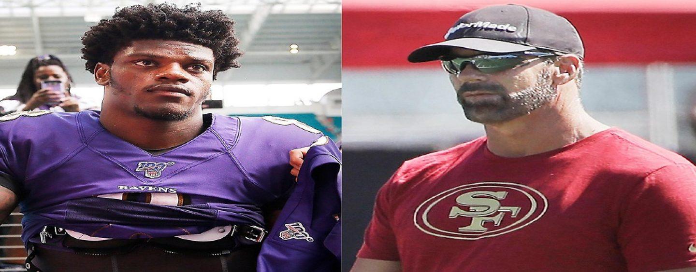 SF 49ers Radio Analyst, Tim Ryan, Suspended For Saying Black Ravens QB, Lamar Jackson's Dark Skin Gives Him An Advantage! (Video)