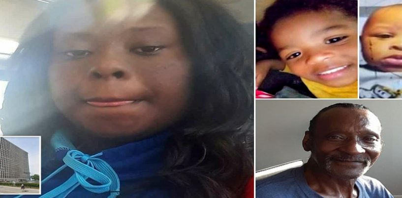 Black Mother Who Throw Her Child Out Of 16 Story Window, Drowned Another & Stabbed Her Father Is Charged! (Video)