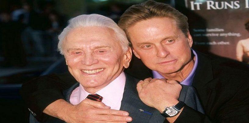 Legendary Actor & Father Of Michael Douglas, Kirk Douglas, Dead At Age 103!