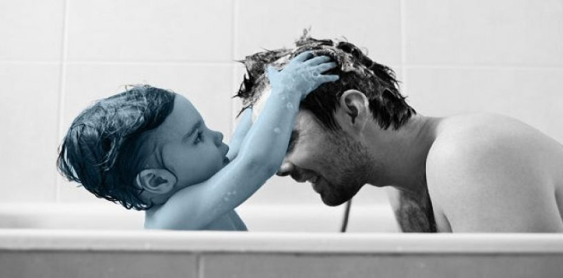 Is It OK For A Father To Show With His Children & It Not Be Viewed As Weird? (Video)