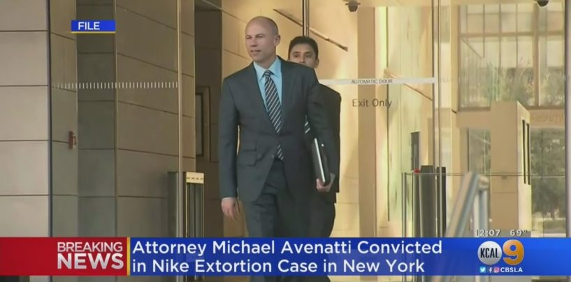Creepy Porn Liberal Anti-Trump Lawyer Michael Avenatti Found GUILTY Of Trying To Extort Nike! (Video)