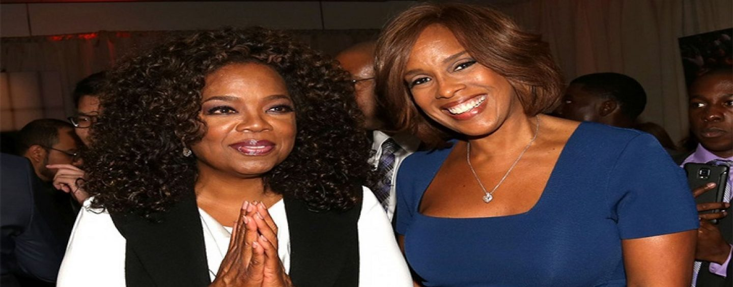 Oprah Winfrey Tries To Get Sympathy For Her Hound-Faced Friend Gayle King Saying She Hasn't Slept Since Kobe Bryant Hatchet Style Interview With Lisa Leslie! (Video)