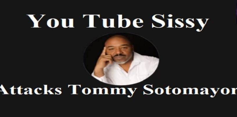 YouTube Jurassic Sissy Decides To Make A Video Attacking Tommy Sotomayor! Click The Link Punk! (Live Broadcast)