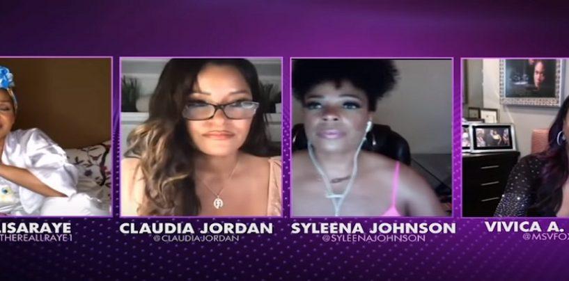 Lisa Raye, Claudia Jordan, Vivica A Fox & Syleena Johnson Say Black Men Are Letting Down Black Women! (Live Broadcast)