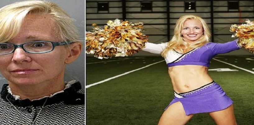 Ex-NFL Cheerleader For The Baltimore Ravens Sentenced To Jail For Rape of 15 Year Old Boy! (Video)