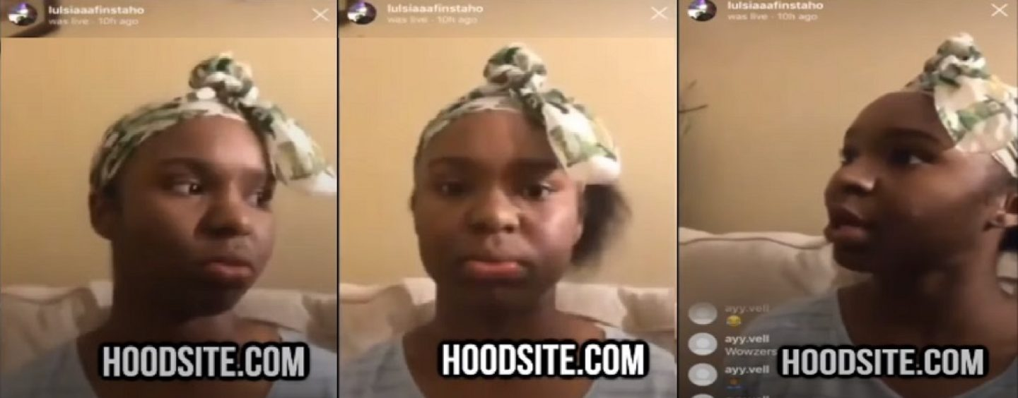 Mother Of 12 Year Old Girl Films Her Daughter On IG To Show The World How Much Of A Whore She Is! (Video)