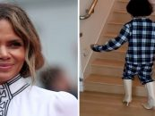 Halle Berry Puts Her White Son In High Heel Shoes & Shows The World.. Is This OK? (Video)