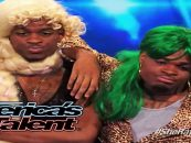 Emmanuel & Phillip Hudson Go On Live TV Dressed Like This.  Is This Not Cooning & Dissing Black Women? (Video)