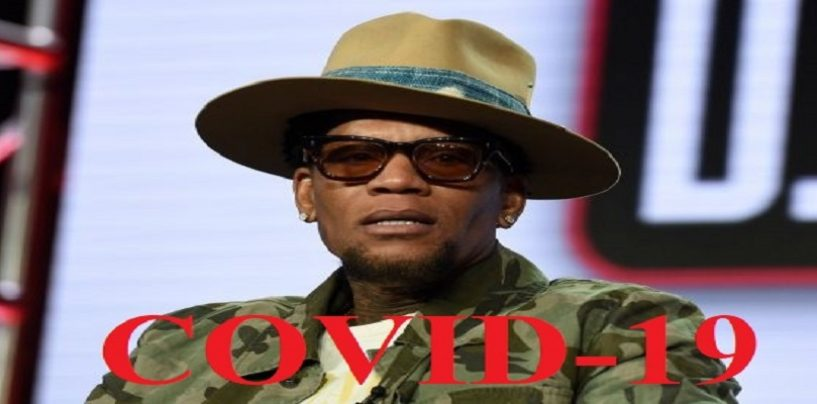Comedian D.L. Hughley Faints On Stage Then Reveals He Has Covid-19, AKA The Kung Fu Flu! (Video)