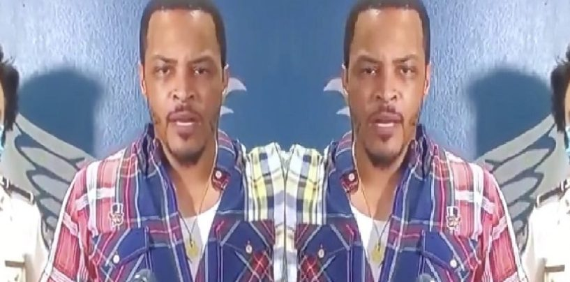 Rapper T.I. Says Atlanta Is Wakanda & Needs To Be Protected At All Cost! This Is Your KING! LOL (Video)