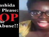 Dear Rashida Strober, Please: STOP ABUSING YOUR DARK SKIN DAUGHTER! (Live Broadcast)