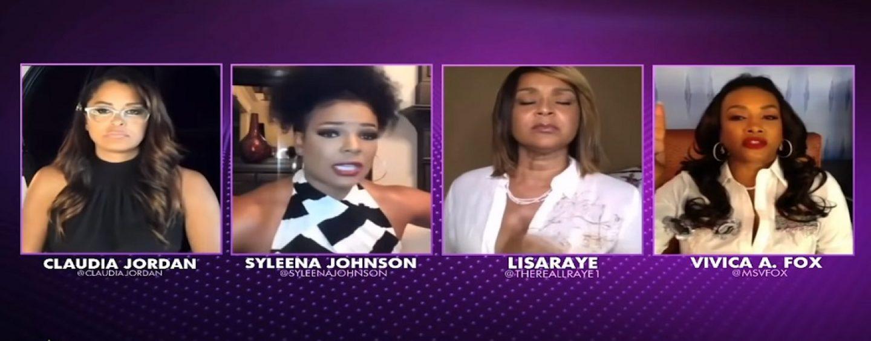 Vivica Fox, Claudia Jordan, Lisa Raye Go In Saying 50 Cent Just Cant Handle A Black Women! Bitter Black B*tches Speak! (Live Broadcast)