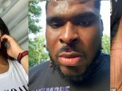 Baltimore Ravens O Lineman D.J. Fluker Got The Crap Beat Out Of Him By His Baby Momma & Girlfriend! (Video)