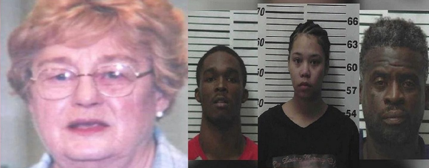 5 Blacks Torture, Beat & Burn 83 Year Old White Woman Who Hired Them To Work On Her Farm! (Video)