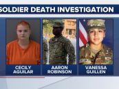 Black Military Man Murders Vanessa Guillen With A Hammer Then He & His Girlfriend Dismember The Body! (Video)