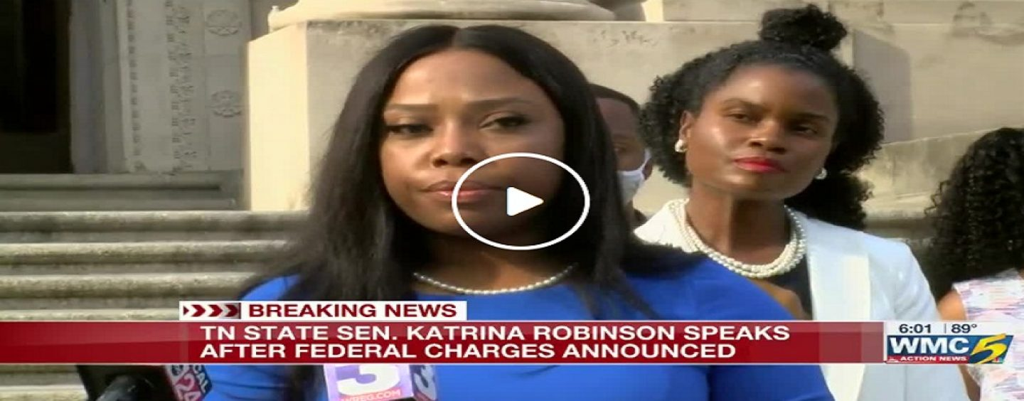 Black Tenn State Sen. Katrina Robinson Charged With Theft, Embezzlement & Wire Fraud Responds To Charges! (Video)
