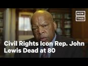 President Trump Pays Tribute To Rep John Lewis As Civil Rights Hero As Death Sends Shockwaves Through DC! (Video)