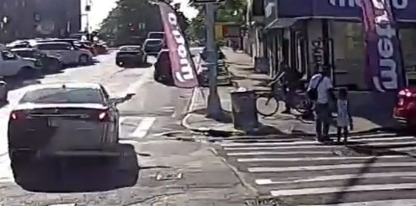 A Bronx Man Was Shot Dead While Walking His Daughter Across The Street! (Shocking Video)