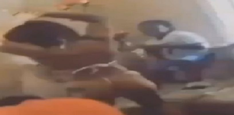 Black Stripper Dances For Little Boys For Birthday Party While They Throw Money On Her! (Video)