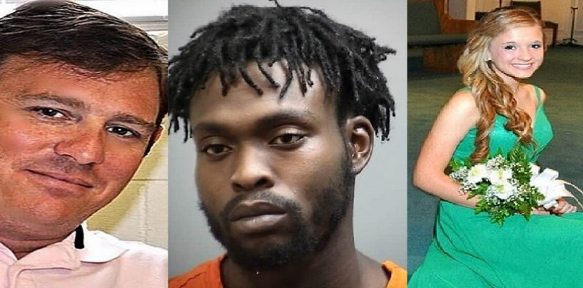 Black Man Executed Father & Daughter By Shooting Them In The Head After Fender Bender In South Carolina! (Video)