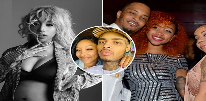 Ti & Tiny Daughter, Zonnique Say Shes Ready To Have Her Child But Not Be A Wife! She Says Being A Wife Is Too Much Of A Commitment! (Video)