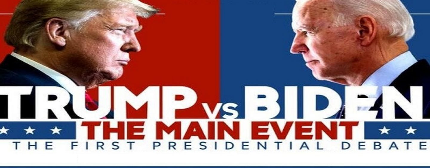President Donald Trump Vs Joe Biden 1st Debate LIVE! (Live Broadcast)