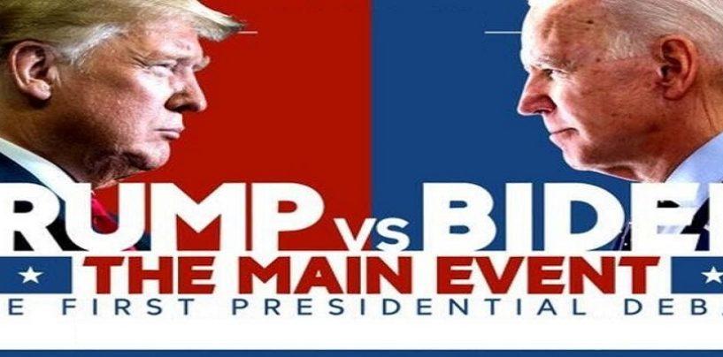 President Donald Trump Vs Joe Biden 1st Debate LIVE! (Live Broadcast)