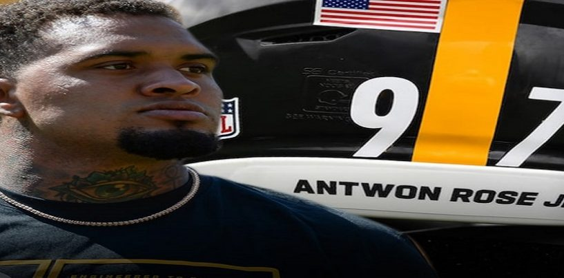Pittsburgh Steelers Maurikice Pouncy Becomes Second Player To Remove Slain Black Teens Name From His Helmet, See Why!