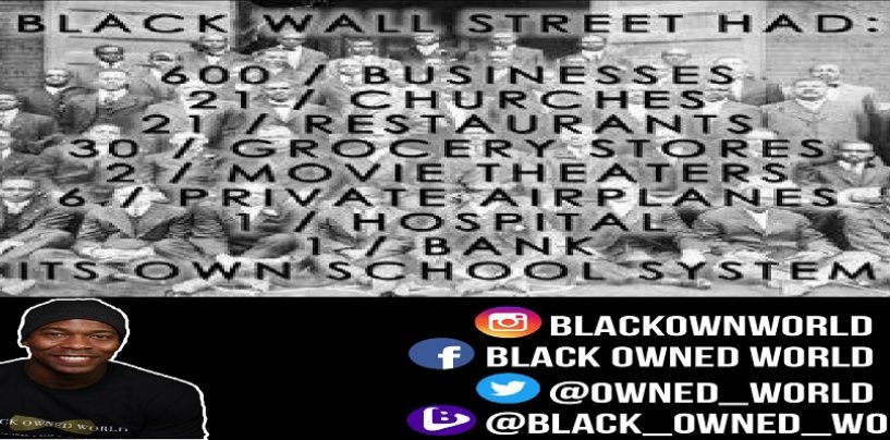 Are We Willing To Do What It Takes To Rebuild Black Wallstreet? w/ Black Owned World (Live Broadcast)