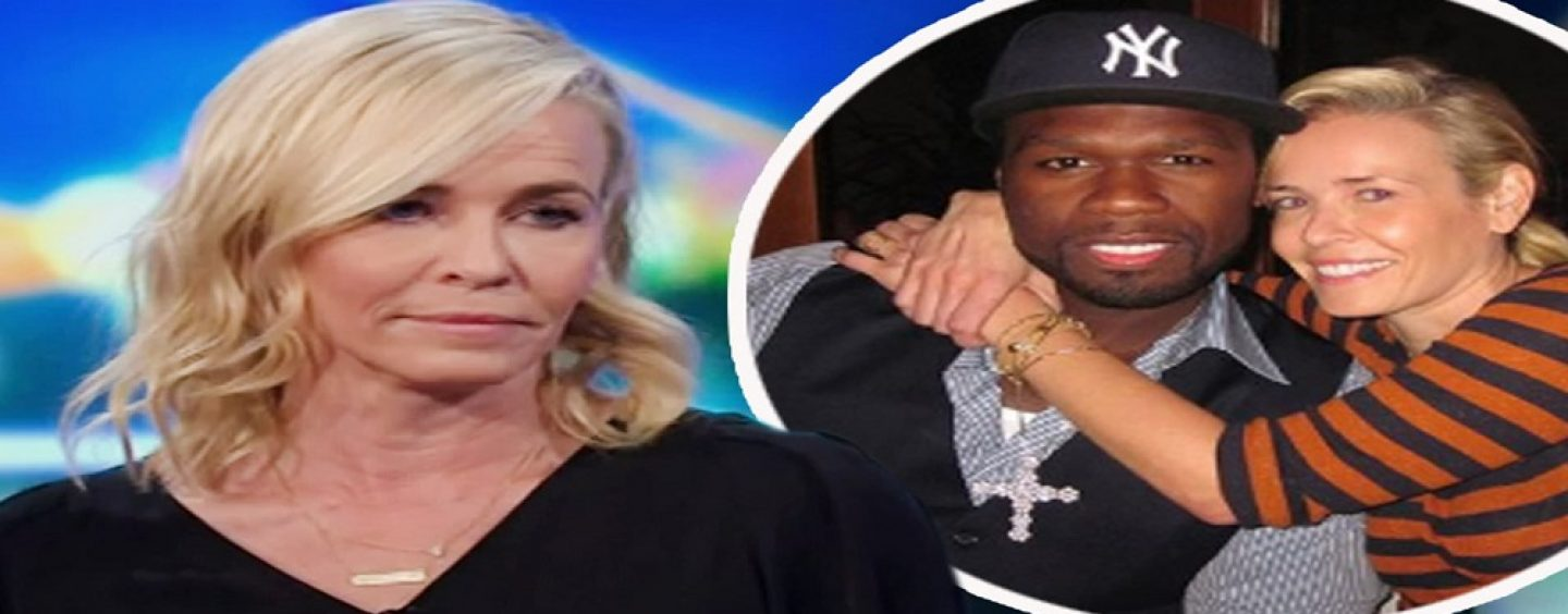 Chelsea Handler Says She Reminded 50 Cant That He Was BLACK & Cant Vote For TRUMP! (Live Broadcast)