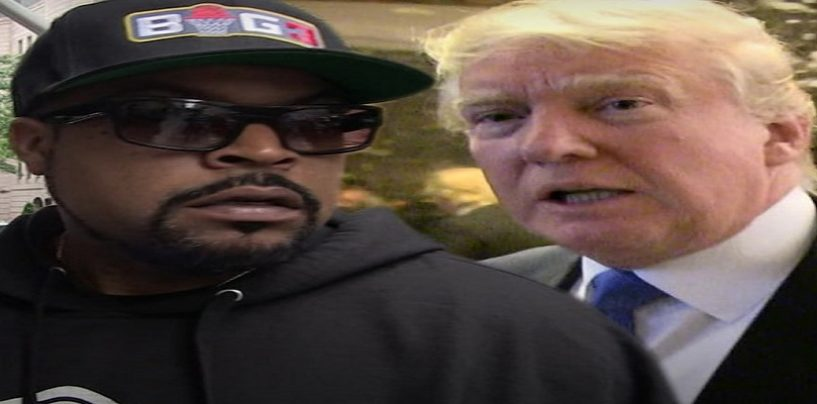 Ice Cube Sets Roland Martin, BLACKS & Others Straight For Criticizing Him Working With Donald Trump! (Live Broadcast)