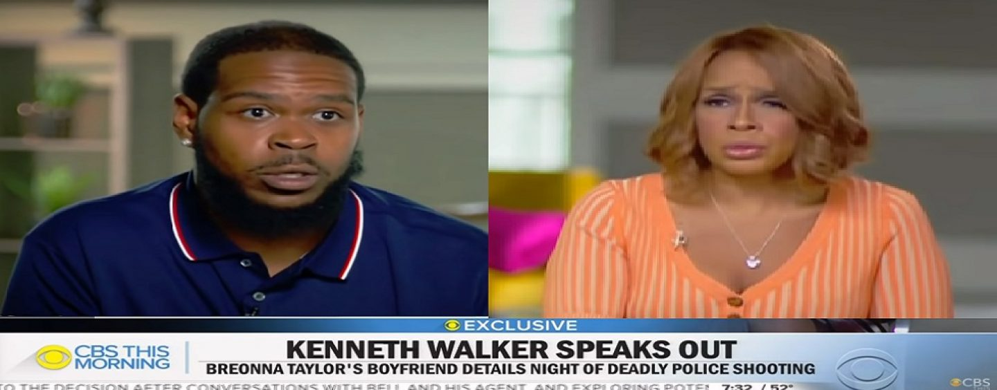 Kenneth Walker, Boyfriend Of Breonna Taylor Speaks Out About What He Saw The Night She Was Killed! (Live Broadcast)
