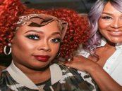 Rapper Da Brat Surprises Her Sister Lisa Raye But Lisa Cusses Her Out Live On Air! (Live Broadcast)