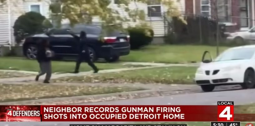 Detroit Black Man Shoots Up Home Of Single Mothers Because They Called His Child Ugly On Social Media! (Video)