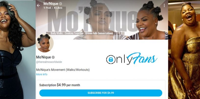 Comedian Mo' Nique Has Joined Onlyfans! Lets Talk About It! w/ Tommy Sotomayor (Live Video)