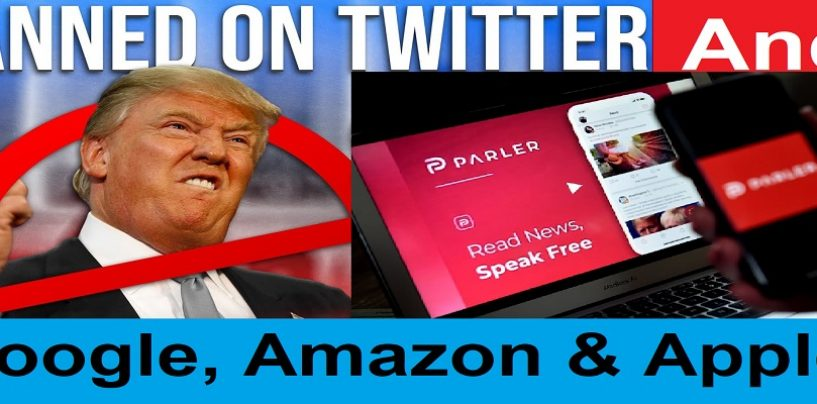 Trump Removed From Social Media & Parler Banned From Amazon, Apple & Google! Is America Now Communist? (Live Broadcast)