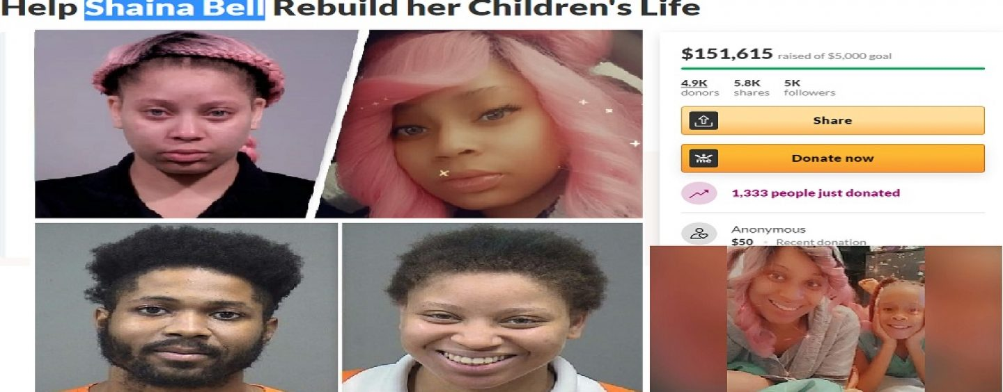 Dead Beat Mom Gets Over 150k On GoFundMe After Leaving Child Alone In Car In The Freezing Cold!