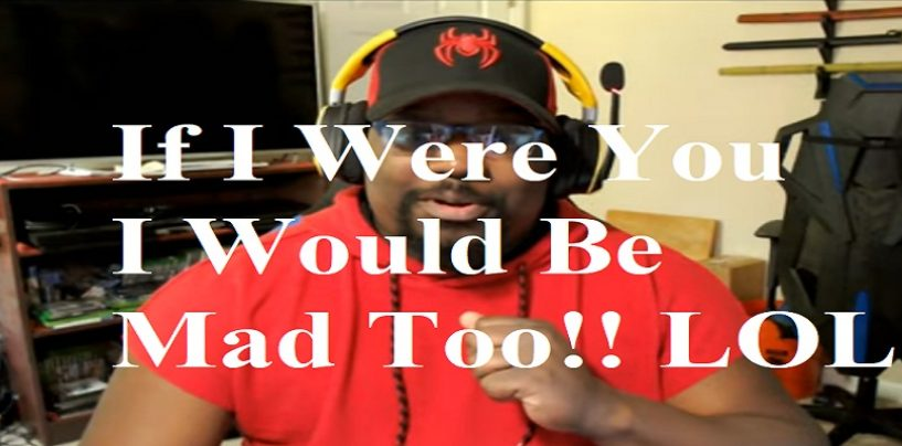 "Sad Fat Black Atheist Says ""Tommy Sotomayor Is A Nobody Now"" But What Does That Make Him? Hit Da Link! (Live Broadcast)"