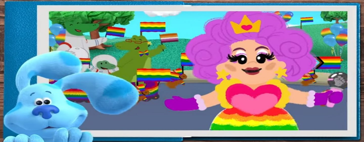 Are You Offended By The Blues Clues Pride Cartoon? Are You OK With This Being Made For Children? (Live Broadcast)