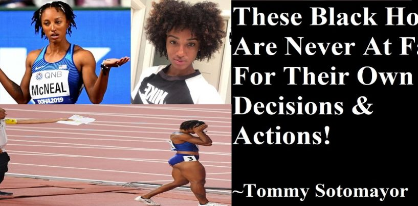 Brianna McNeal, Has Abortion Just To Make Olympic Team, Misses Drug Test But Blames White Supremacy! (Live Broadcast)