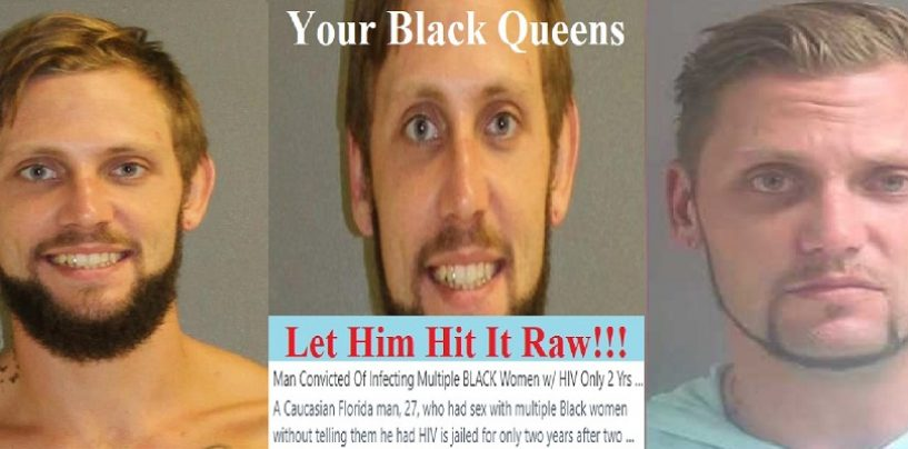 Brokeback Brad Finds It Easy To Infect Willing Black Queens With HIV As They Try To Get A Baby With Good Hair!