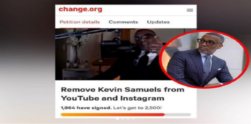Lets Address This So Called Petition To Get Kevin Samuels Removed From Instagram & YouTube! (Live Broadcast)