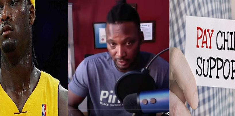 Kwame Brown Gets Served Some #BabyMommasCookin ! Says Hes A Lame Deadbeat Dad & Sends Police 2 Home! (Live Broadcast)