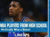 Bleacher Report Give Their 10 Greatest Players Drafted Straight Out of High School! (Video)