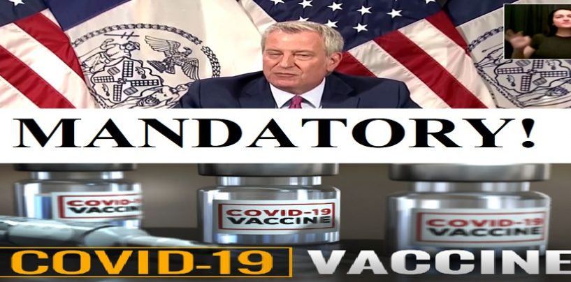NYC Makes Being Vaccinated MANDATORY Or Else! Should Americans Be Forced To Get Vaccinated? (Live Broadcast)