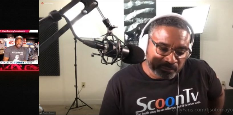 Tommy Sotomayor Talks Live With Scoon TV About: FAMILY, KWAME BROWN, RACISM, THE VACCINE & MORE! (Video)