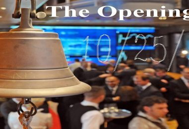 The Opening Bell: Playing The Stock Market With Tommy Sotomayor! 10/25/21 (Live Broadcast)