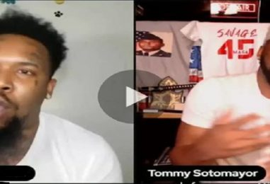 Tattooed Faced Goofy Goes In On Tommy Sotomayor Because He Said All Street Moms Need To Be Defended! (Live Broadcast)